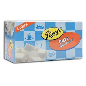 Parrys Pure Refined – Sugar Cubes, 500 gm Carton