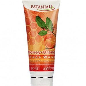 Patanjali Face Wash Honey And Orange 50 Grams Tube