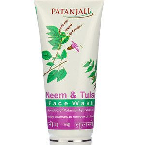 Patanjali Face Wash Neem Tulsi 60 Ml