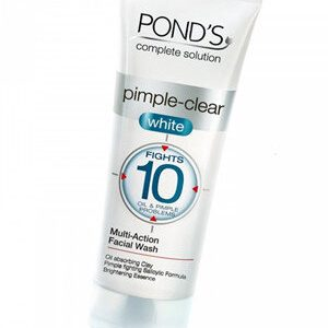 Ponds Face Wash Pimple Clear White 100 Grams