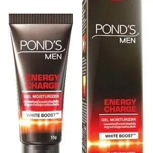 Ponds Men Brightening Gel Moisturizer Energy Charge 40 Grams White Boost