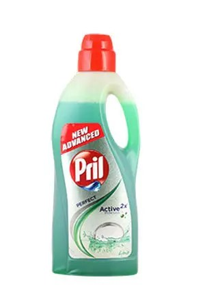 Pril Dishwash Liquid – Lime, 2 ltr