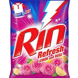 Rin Refresh Lemon and Rose Detergent Powder, 4 kg