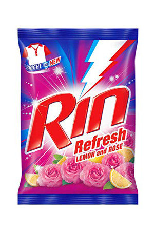 Rin Refresh Lemon & Rose Detergent Powder 1 kg