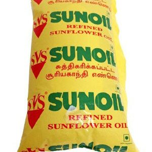 SVS Refined Sunflower Oil 1 Litre Pouch