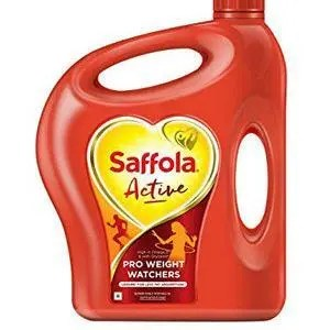 Saffola Active Blended Oil, 5 ltr Can