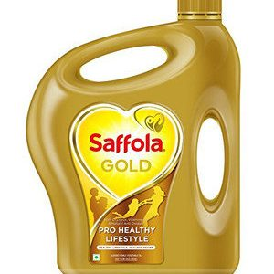 Saffola Gold Oil, 2 ltr Can