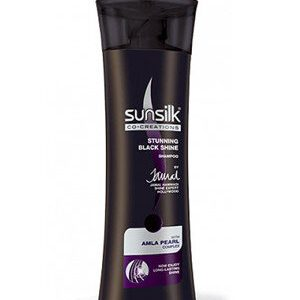 Sunsilk Shampoo Stunning Black Shine Amla Pearl Complex 80 Ml