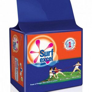 Surf Excel Detergent Bar 200 gm ( Pack of 4 )