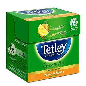 Tetley Green Tea Bags Lemon And Honey 25 Pcs Carton