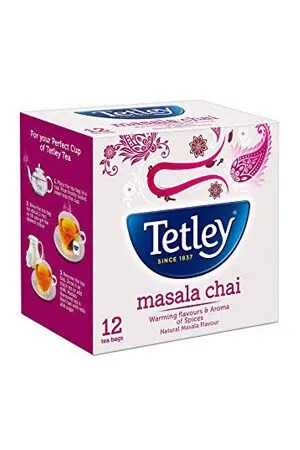 Tetley Tea Bags Masala 12 Pcs Carton