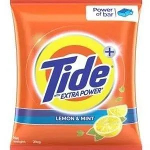 Tide Plus Detergent Washing Powder - Extra Power Lemon & Mint, 1 kg