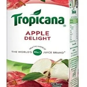 Tropicana Delight Fruit Juice Apple 200 Ml Tetra