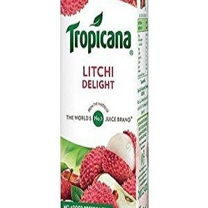 Tropicana Delight Fruit Juice Litchi 1000 Ml Tetra