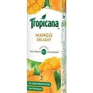Tropicana Delight Fruit Juice Mango 200 Ml Carton