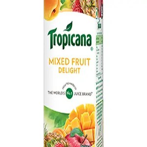 Tropicana Delight Fruit Juice Mixed Fruit 200 Ml Tetra