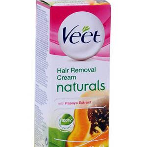 Veet Hair Removal Cream Naturals With Papaya Extract 25 Grams