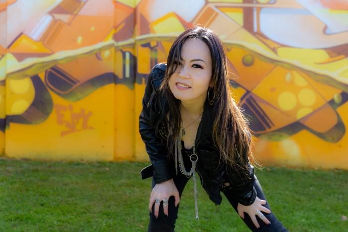 La cantante metal giapponese: Saeko Kitamae