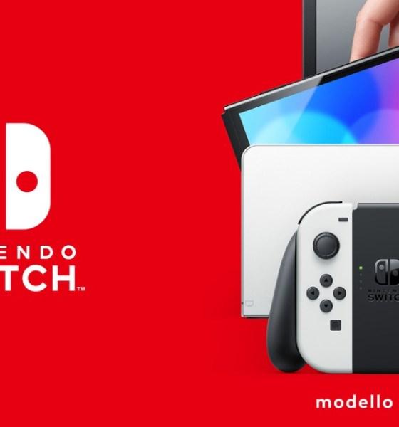 Nintendo Switch OLED: la nuova console in arrivo a ottobre