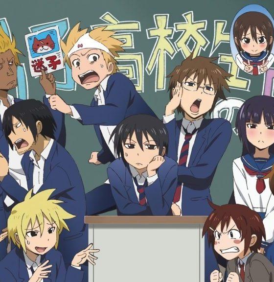 School life comedies anime da vedere
