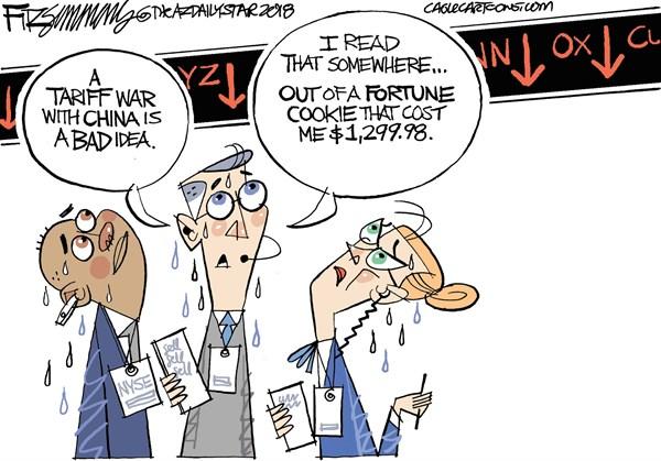 the stock market takes