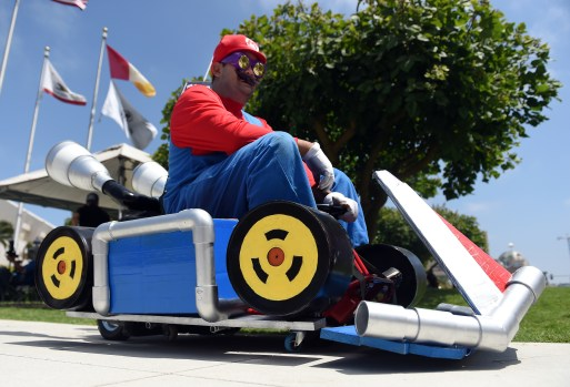 this mario kart inspired