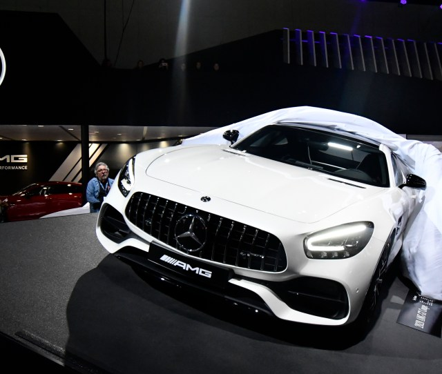 The 2020 Mercedes Benz Amg Gt Is Shown A Year Early During The 2018 Los Angeles Auto Show Media Day Wednesday Nov 282018 Some Of The Auto Makers Are