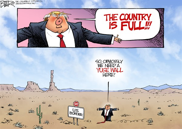 The Country Is Full Political Cartoons Daily News