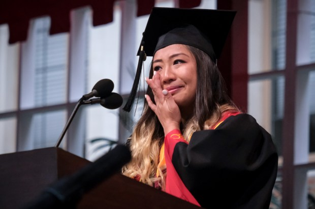 Photos Usc 2019 Graduation Ceremony Is A Celebration Of
