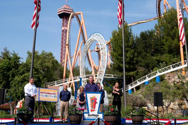If you love roller coasters and thrill rides, head to six flags magic mountain next time you visit burbank! Gov Newsom S Coronavirus Reopening Tour Rolls Into Six Flags Magic Mountain Daily News