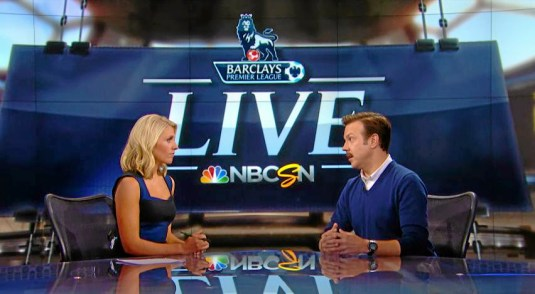 On the media Who is Ted Lasso and why does NBC want me to