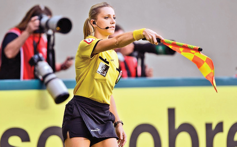 The first Woman Referee making history at FIFA World Cup