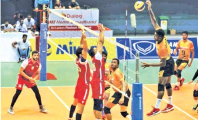 Sri Lanka spikers for Central Asia Tournament | Daily News