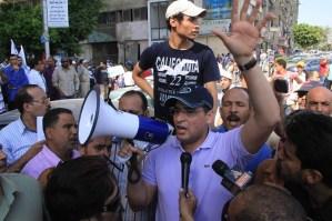 Abu Hamed aims to oust Morsy (file photo) Mohamed Omar