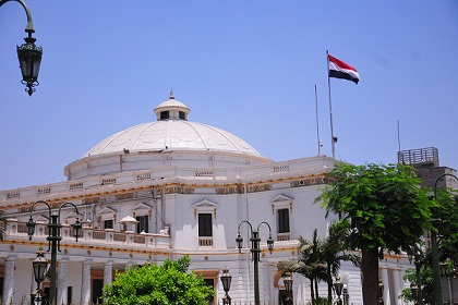 Members of the dissolved People's Assembly decided to suspend their sit-in. (DNE / FILE PHOTO / Hassan Ibrahim)