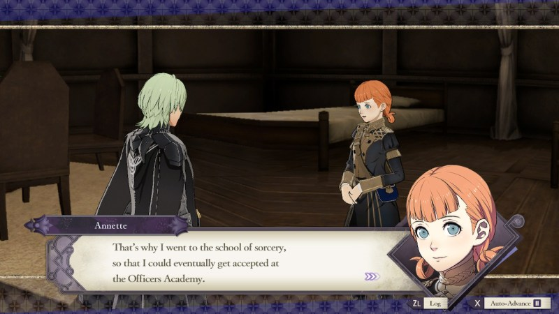 Fire Emblem Three Houses Support Screen