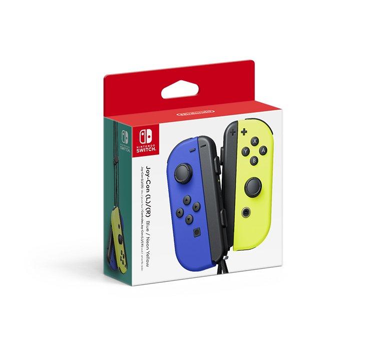 Joy-Con Blue Yellow