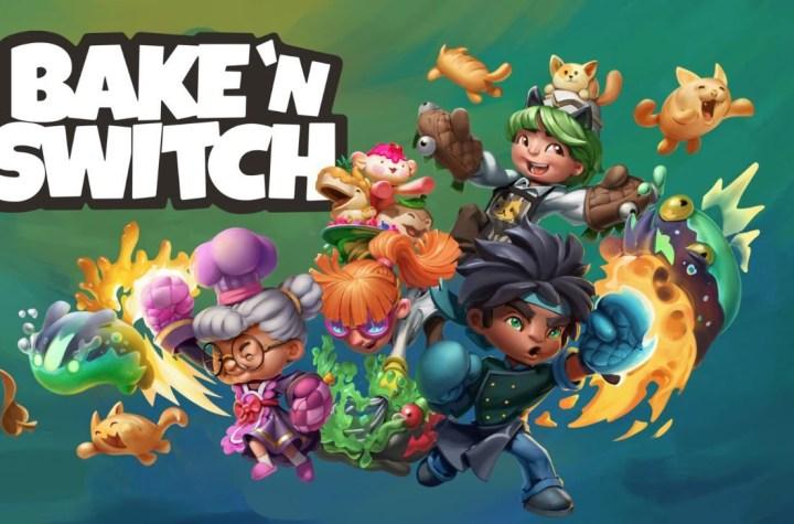 Bake 'n Switch keyart