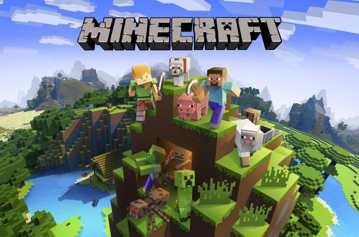 minecraft keyart