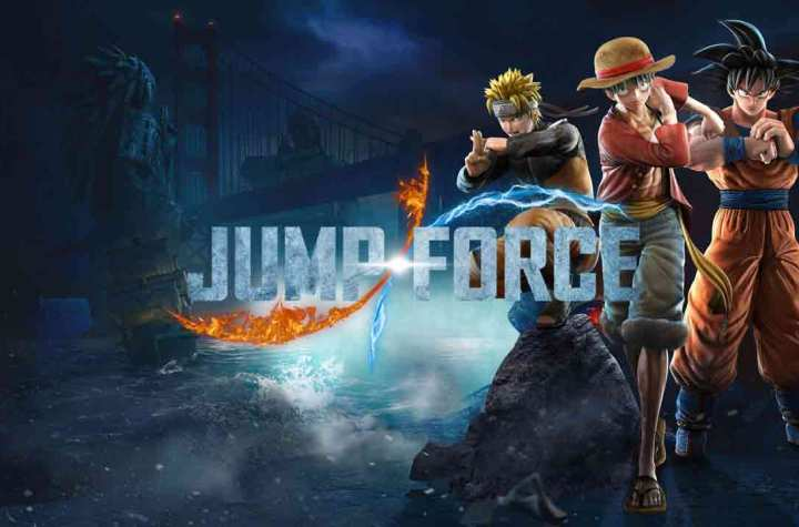 Jump Force Keyart
