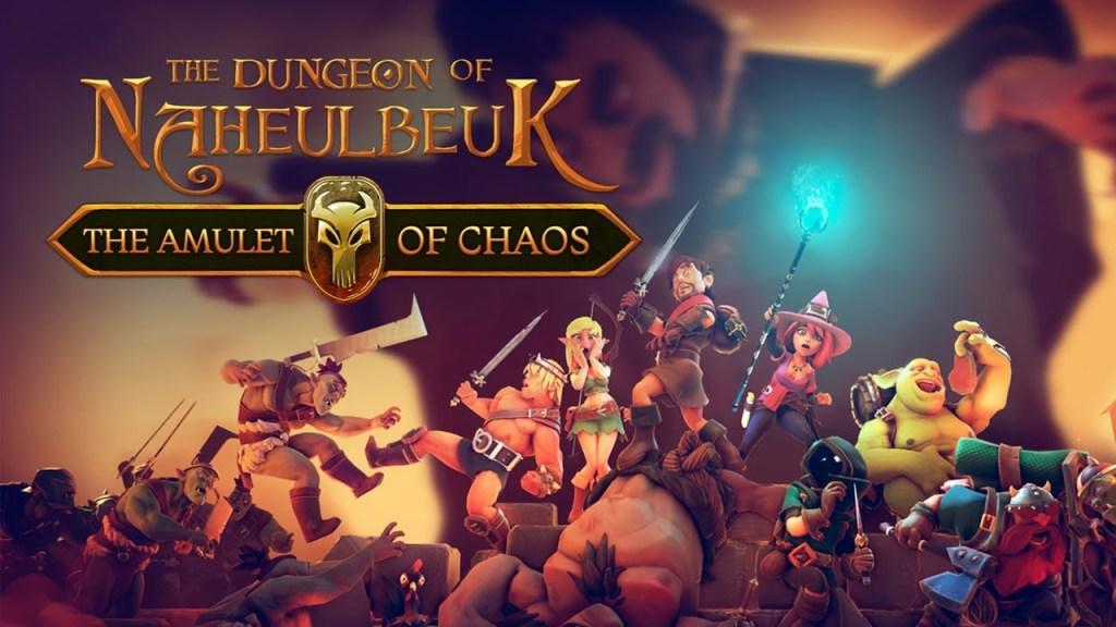 The Dungeon of Naheulbeuk Keyart