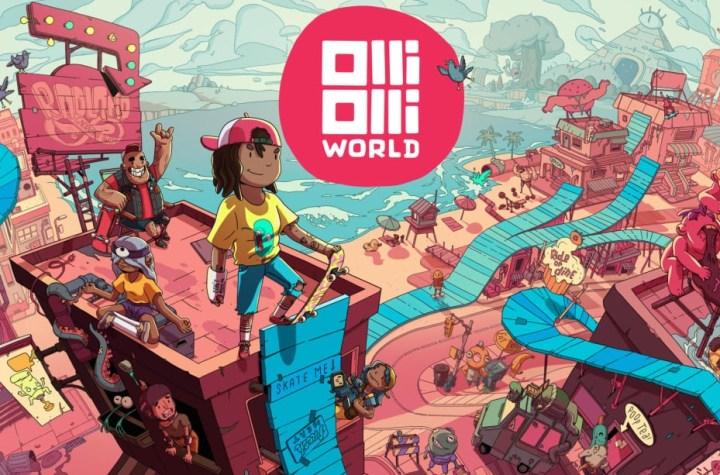 OlliOlli World keyart