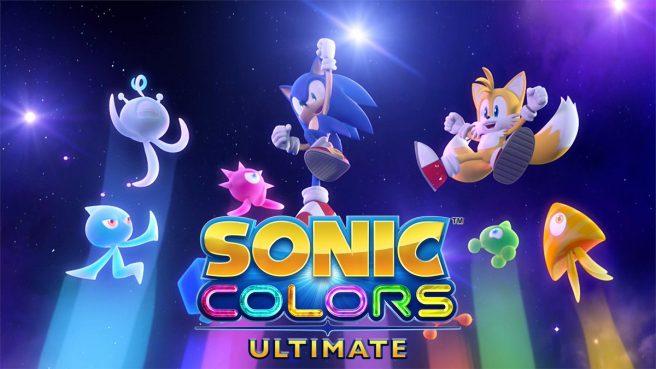 Sonic Colors Ultimate Keyart