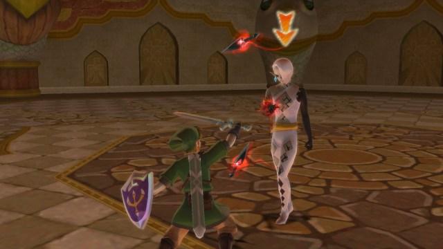 The Legend of Zelda Skyward Sword HD Ghirahim Battle