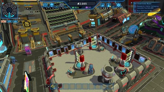Spacebase Startopia -  eerste deck