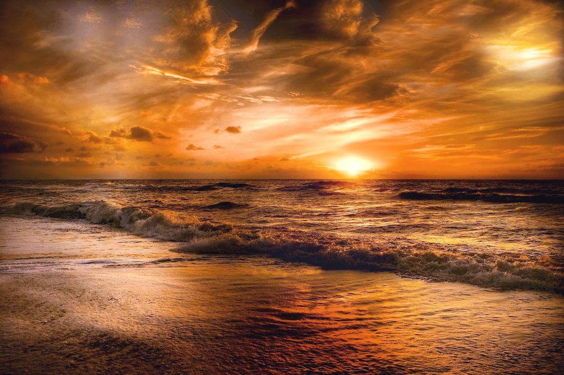 A gold Sunset