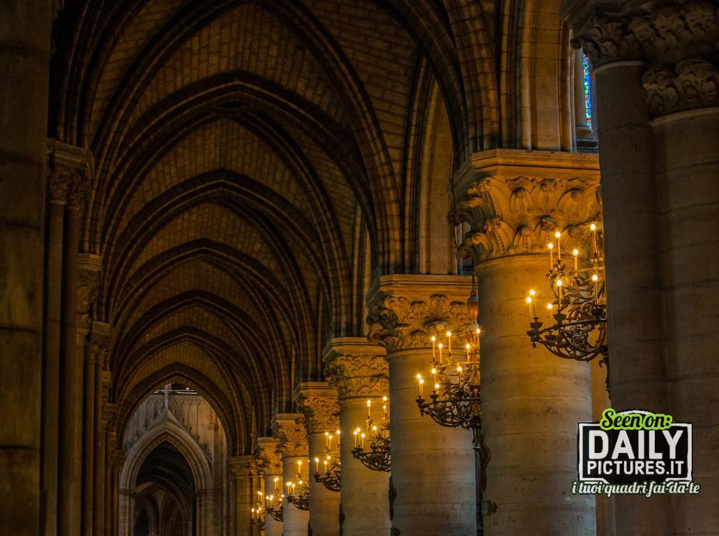 Notre Dame Paris - Geometrical