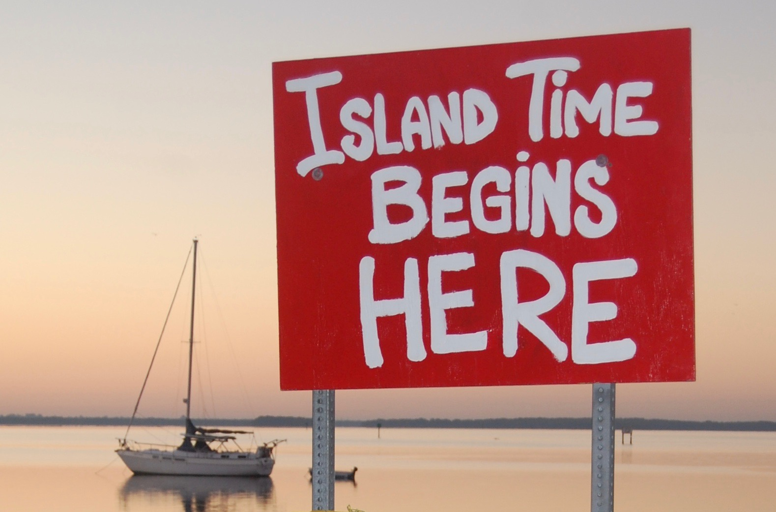 Island Time Sign In Matlacha Fl