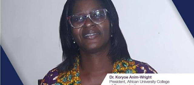 Women in PR Ghana Seminar Speaker: Dr. Koryoe Anim-Wright