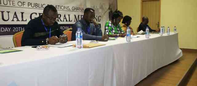 IPR Ghana holds Annual General Meeting in Kumasi